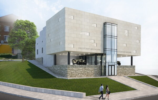 Reconstruction of the Museum of local lore in the city. Town (Khmelnytsky Oblast.)