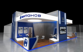 "Exhibition stand for am ""Antonov"""