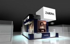 Exhibition stand for ZARINA