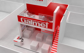 "Exhibition stand for the company ""Galmet"""