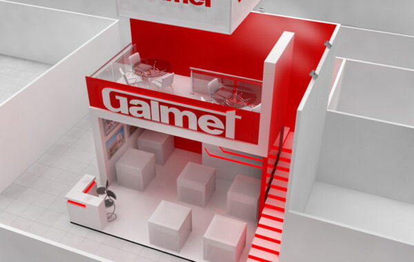 """Exhibition stand for the company """"Galmet"""""""