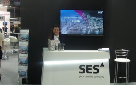 Exhibition stand for SES