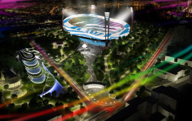 "Reconstruction of the stadium ""Dynamo"" Valeriy lobanovskyy"